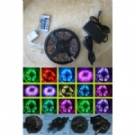 LED RGB Strip with 16-Color Options By Remote Controller